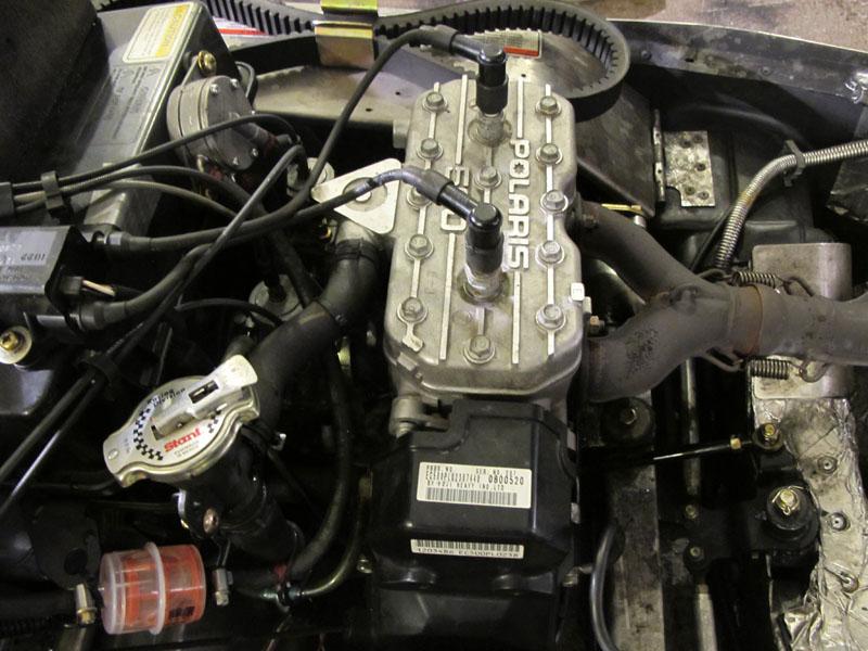 Двигатель POLARIS 500