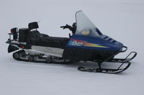 Снегоход «Рысь-500М» начала 21
